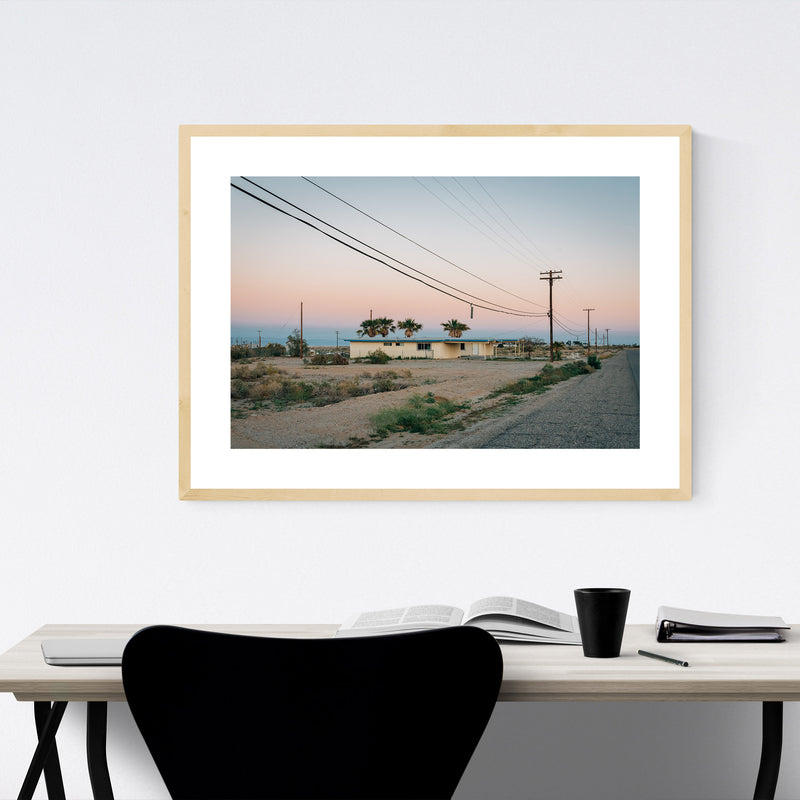Abandoned Salton Sea California Framed Art Print