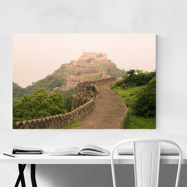 Kumbhalgarh Fort Wall Art Print