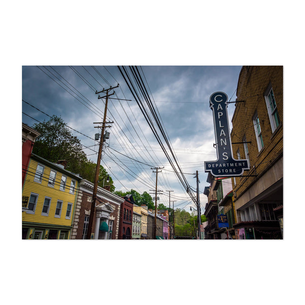 Old Ellicott City Maryland Art Print
