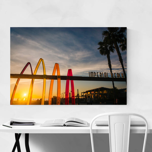 Imperial Beach Sign San Diego Art Print