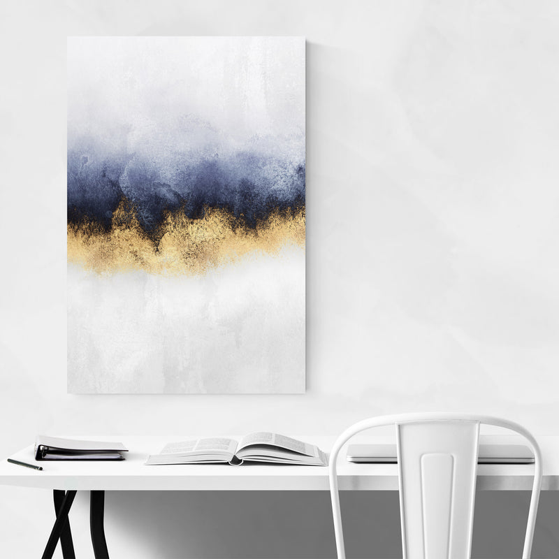 Abstract Sky Watercolor Nature Art Print
