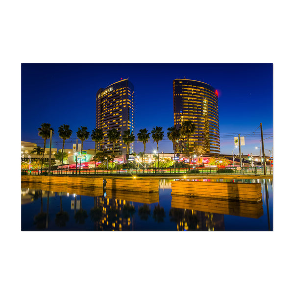 San Diego California Skyline Art Print