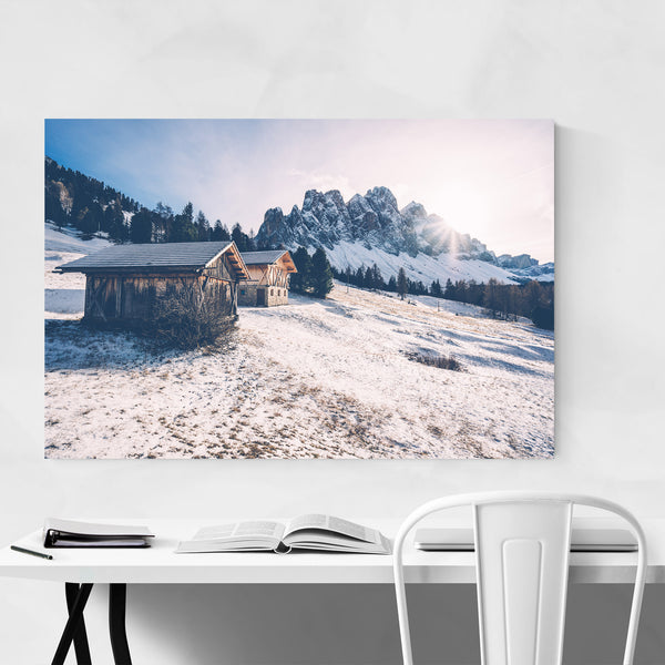 Val di Funes South Tyrol Italy Art Print