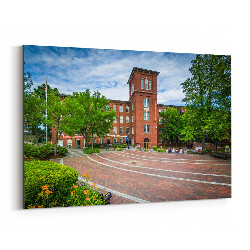 Old Mill Dover New Hampshire Canvas Art Print