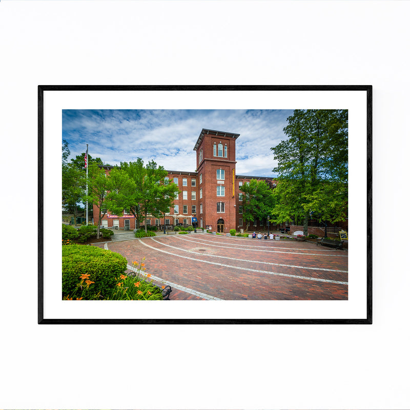 Old Mill Dover New Hampshire Framed Art Print