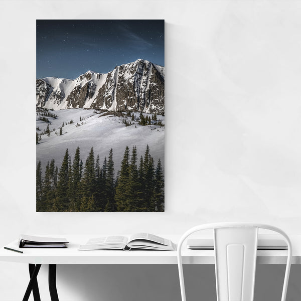Snowy Range Wyoming Mountains Art Print
