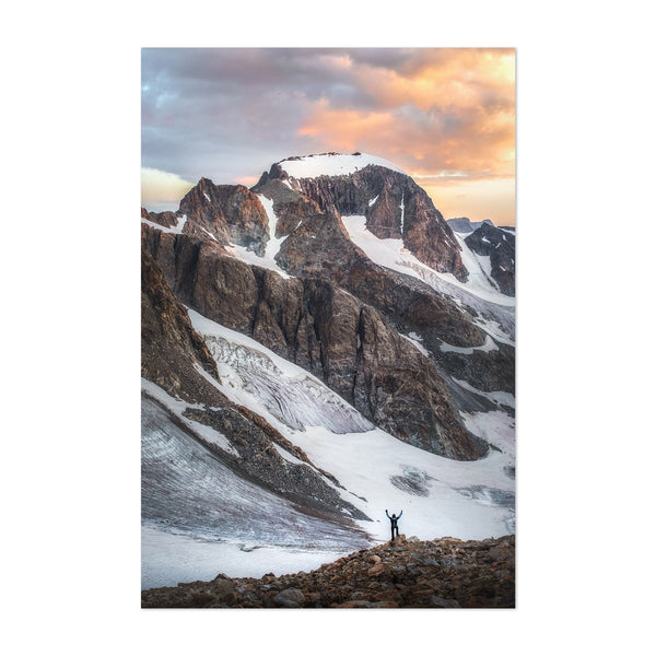 Wyoming Rocky Mountains Nature Art Print