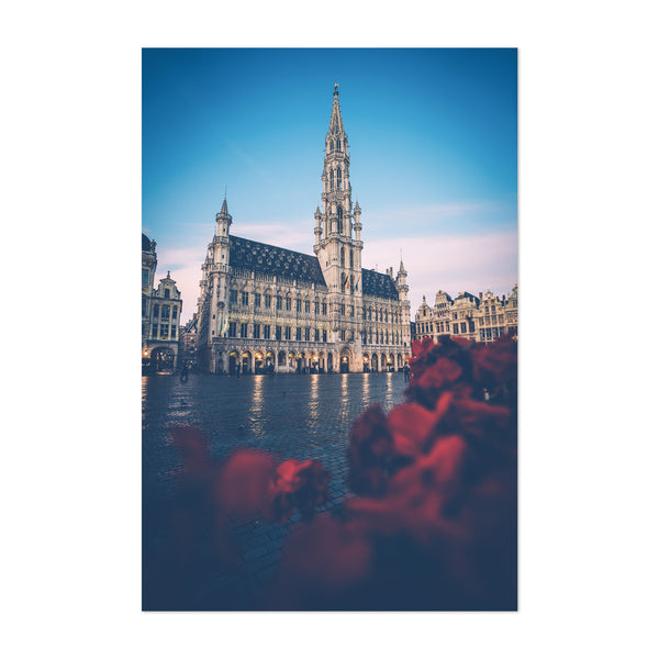 Brussels Belgium City Photo Art Print