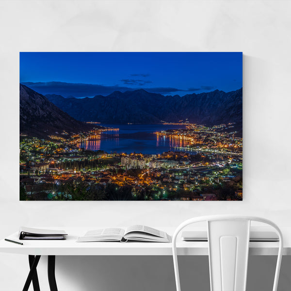 Kotor Montenegro Landscape Photo Art Print