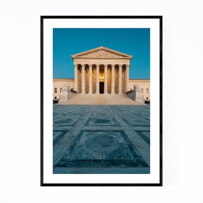 Washington DC Supreme Court Framed Art Print