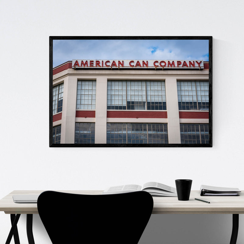 Canton Baltimore Maryland Sign Framed Art Print