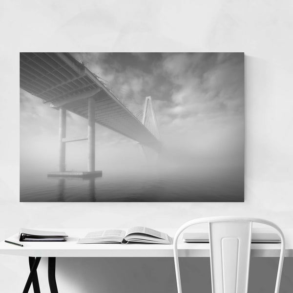Charleston South Carolina Bridge Art Print