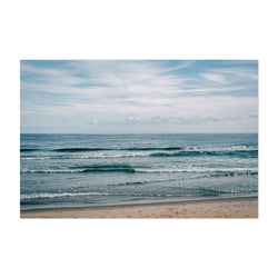 Asbury Park, New Jersey Beach Art Print