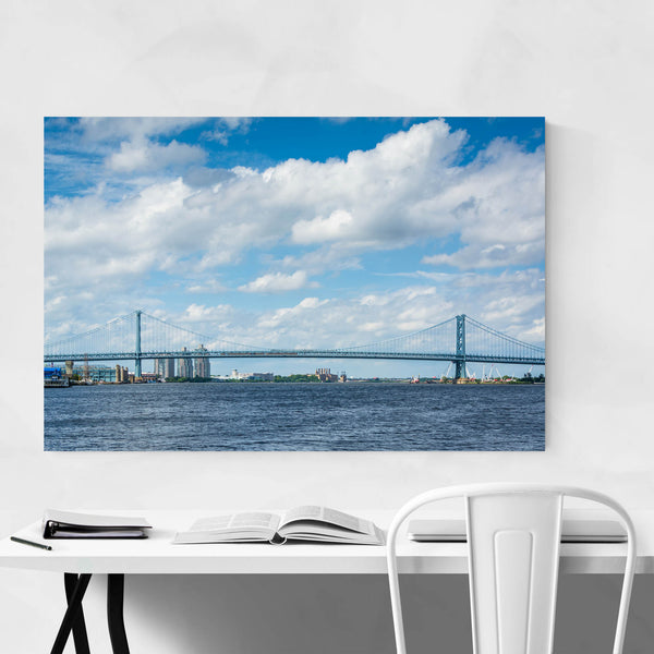 Philadelphia Ben Franklin Bridge Art Print