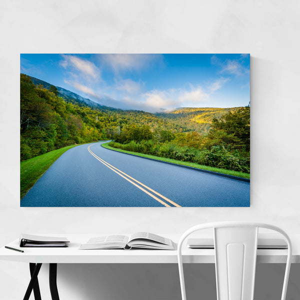 Blue Ridge Blowing Rock NC Art Print