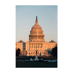 Washington DC US Capitol Photo Art Print