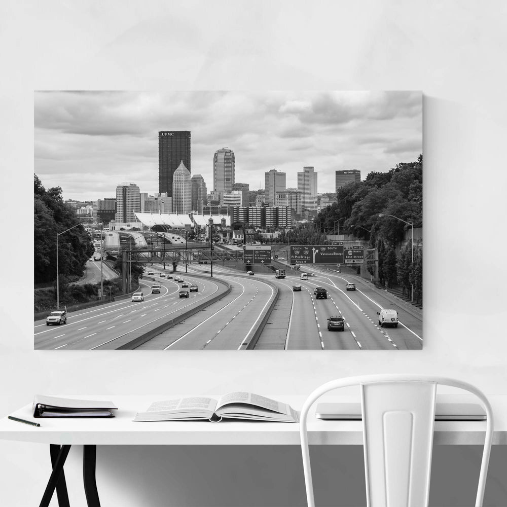 Pittsburgh Skyline Cityscape Art Print
