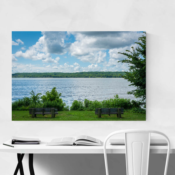 Virginia Potomac River Nature Art Print