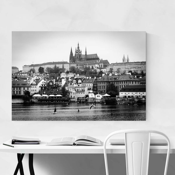 Prague European Architecture Art Print