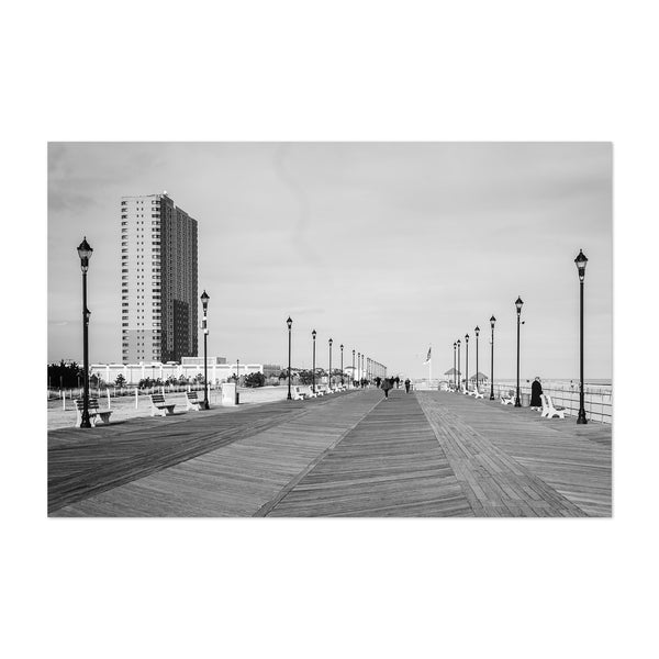 Asbury Park New Jersey Boardwalk Art Print