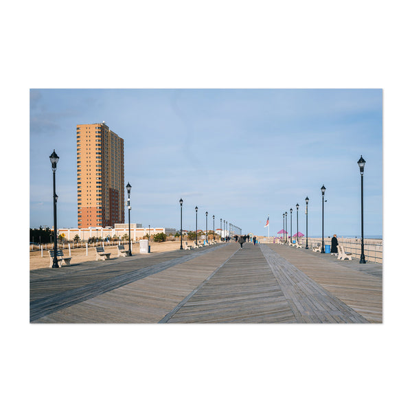 Asbury Park NJ Boardwalk Art Print