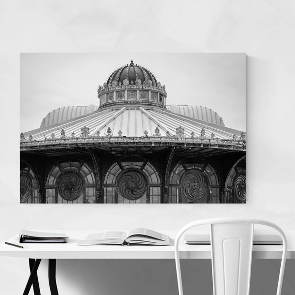 Asbury Park, New Jersey Shore Art Print