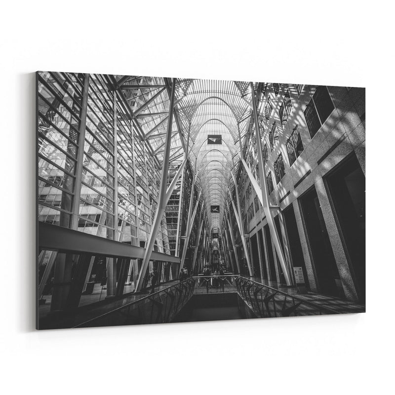 Toronto Modern Architecture Canvas Art Print
