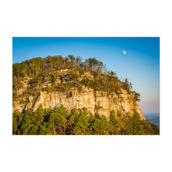 Pilot Mountain North Carolina Art Print