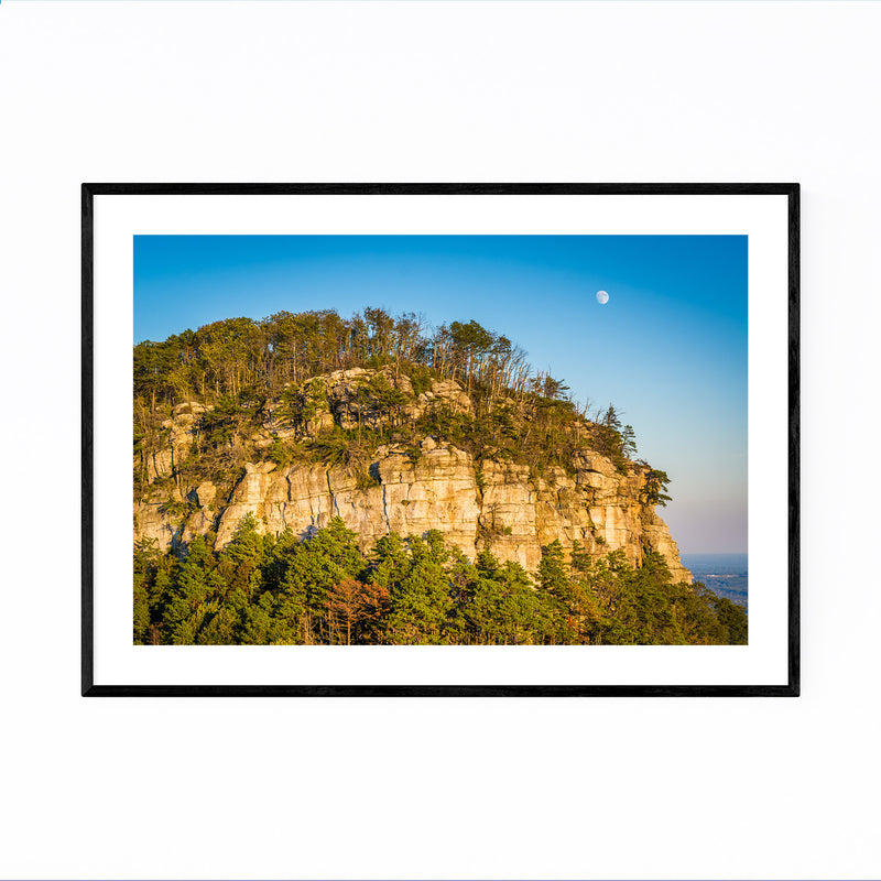 Pilot Mountain North Carolina Framed Art Print