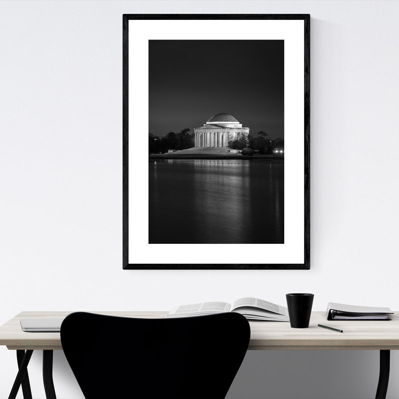 Thomas Jefferson Memorial DC Framed Art Print