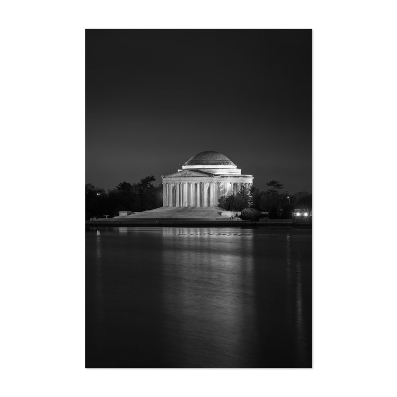 Thomas Jefferson Memorial DC Art Print
