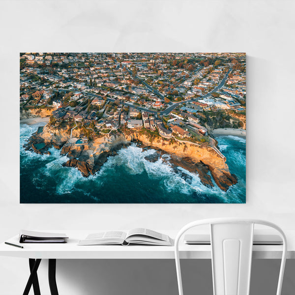 Laguna Beach California Coastal Art Print