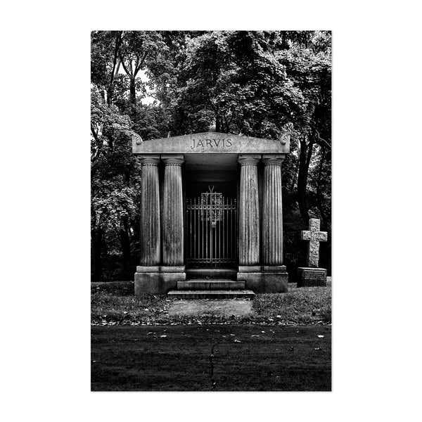 Toronto Cemetery Photography Art Print