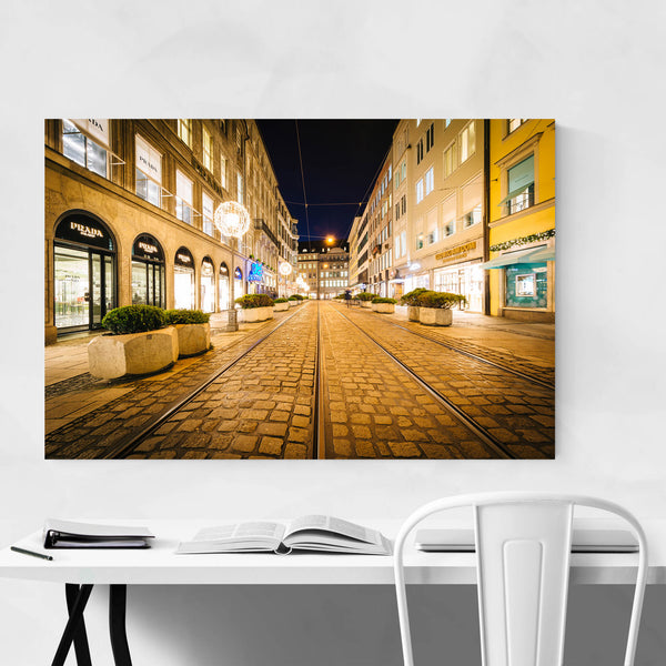Munich Germany Urban Cityscape Art Print