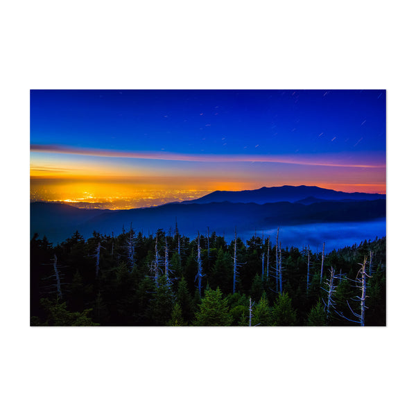 Great Smoky Mountains Tennessee Art Print