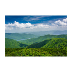 Blue Ridge North Carolina Nature Art Print