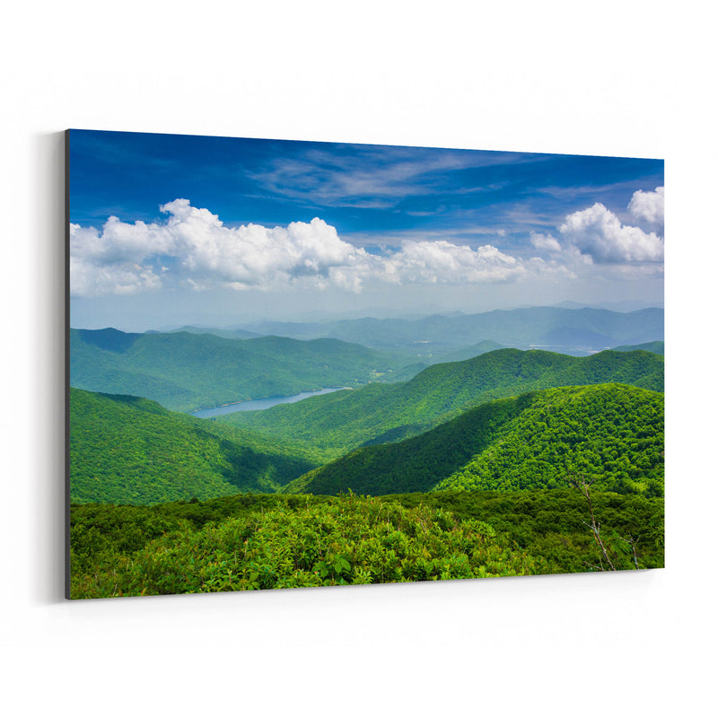 Blue Ridge North Carolina Nature Canvas Art Print