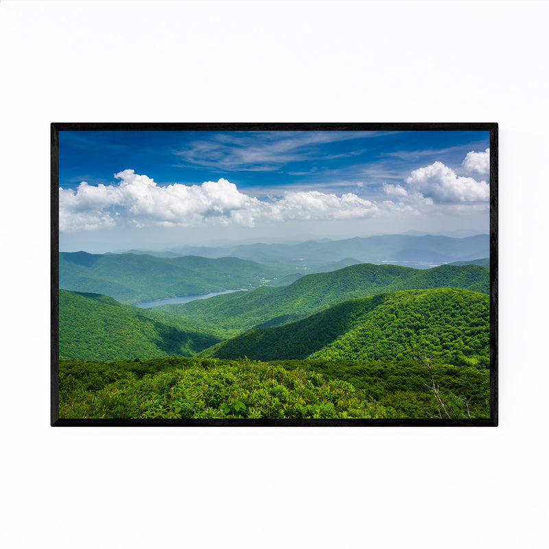 Blue Ridge North Carolina Nature Framed Art Print