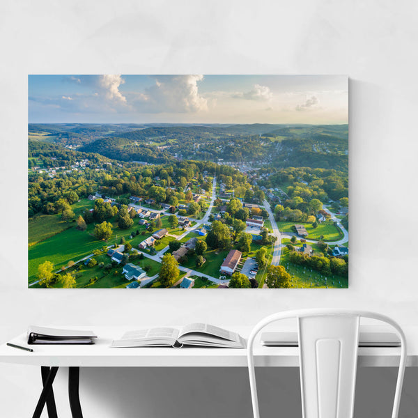Glen Rock, Pennsylvania View Art Print