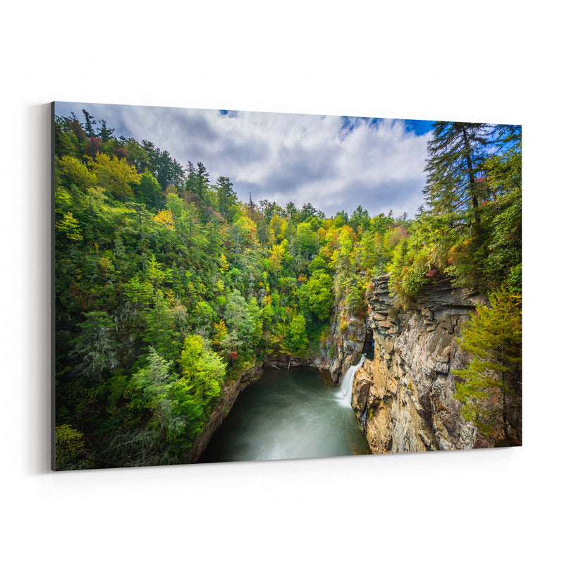 Linville Gorge, North Carolina Canvas Art Print