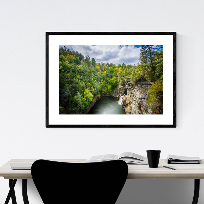 Linville Gorge, North Carolina Framed Art Print