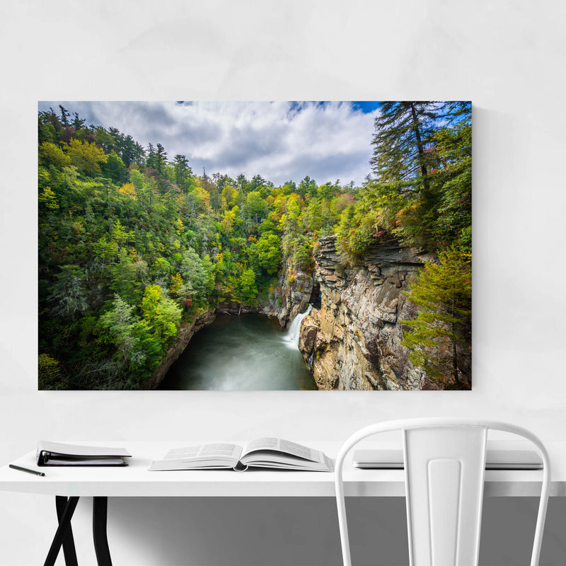 Linville Gorge, North Carolina Metal Art Print