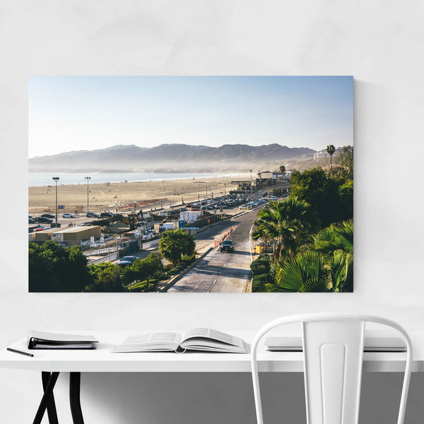 Santa Monica Mountains CA Art Print