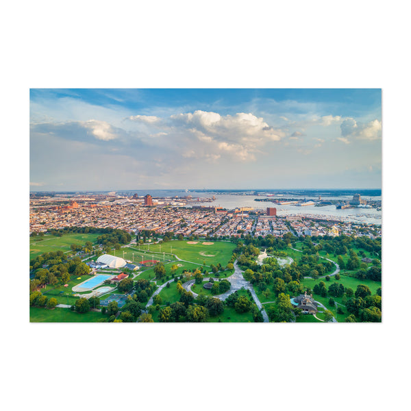 Baltimore Patterson Park View Art Print