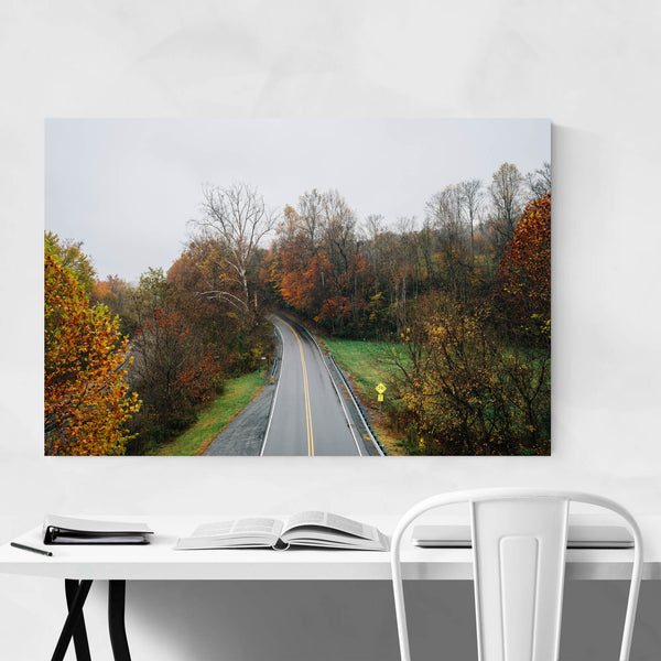 Blue Ridge Parkway Autumn Art Print