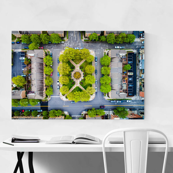 Canton Baltimore Maryland View Art Print
