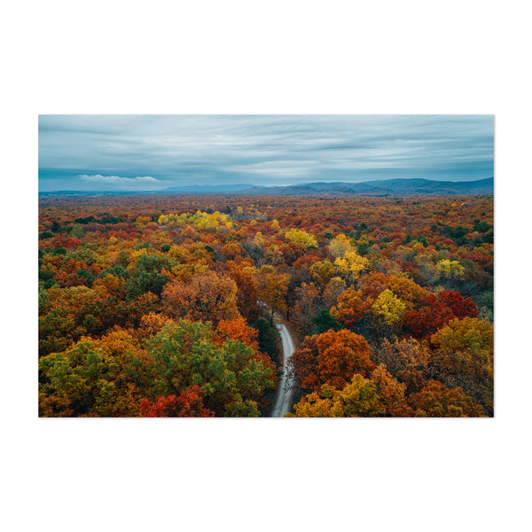 Virginia Mountains Fall Autumn Art Print