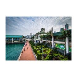 Hong Kong Victoria Harbour Art Print