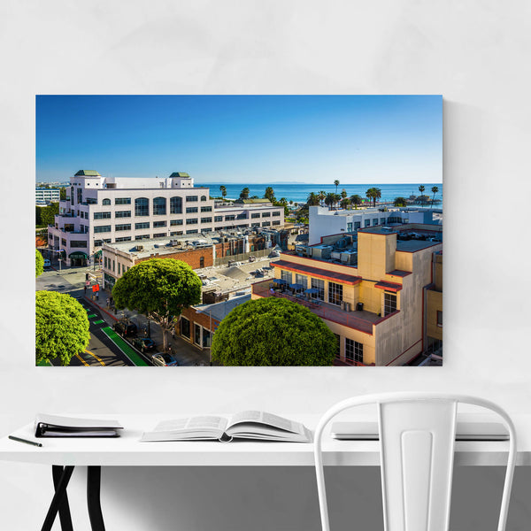 Santa Monica, California View Art Print