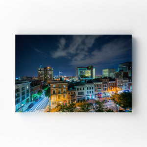 Mt. Vernon Baltimore Skyline Mounted Art Print
